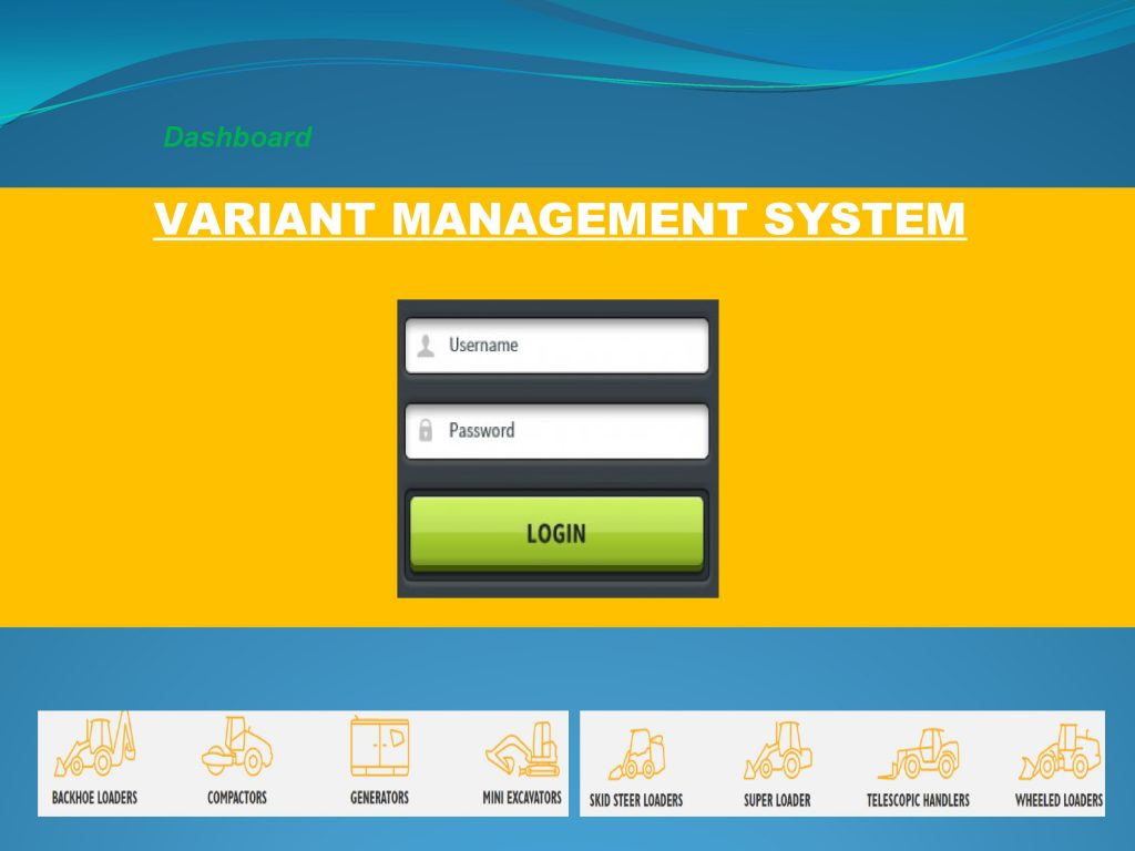 SCADA SCREEN VARIANT MANAGEMENT